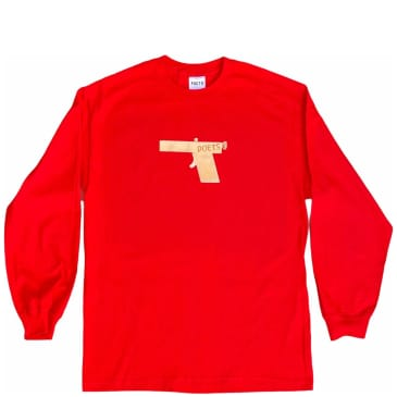 Poets Glock Long Sleeve - Red