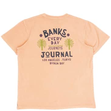 Banks Journal Holiday T-Shirt - Light Apricot