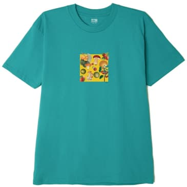 OBEY Fruits & Mushrooms Classic T-Shirt - Teal