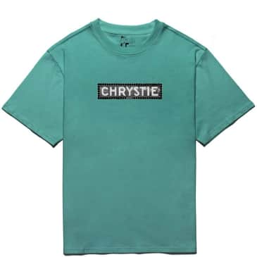 Chrystie NYC Station Logo T-Shirt - Jade Green