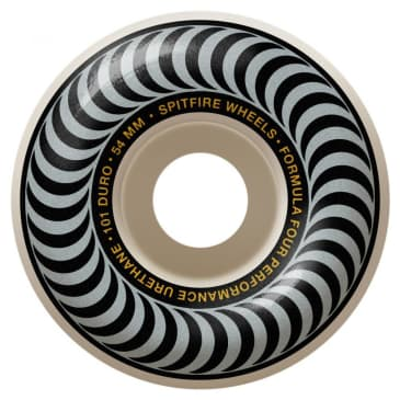 Spitfire Formula Four Classic Wheels 101a Silver - 54mm