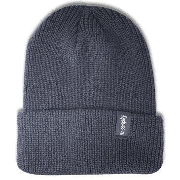 No-Comply Script Beanie Navy Low Crown