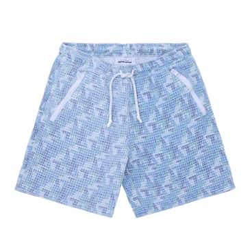 Fucking Awesome Shorts Baggie Waffle - Blue