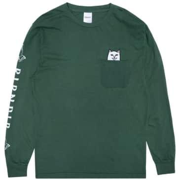Ripndip Lord Nermal Long Sleeve T-Shirt - Olive