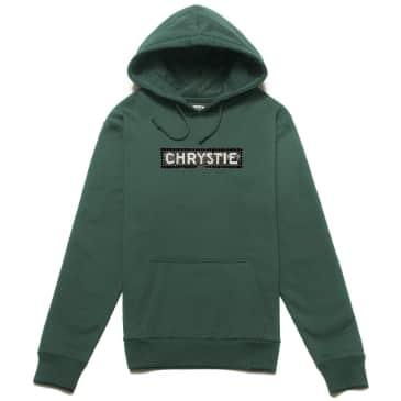 Chrystie NYC Station Logo Hoodie - Alpine Green