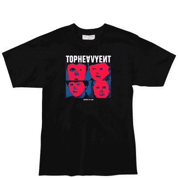 Top Heavy Absence T-Shirt - Black