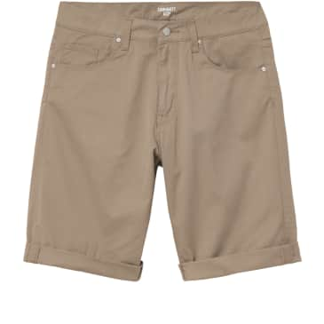 Carhartt WIP Swell Short - Leather (Rinsed)