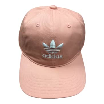 Adidas Originals Relaxed Strapback Hat Dust Pink/White