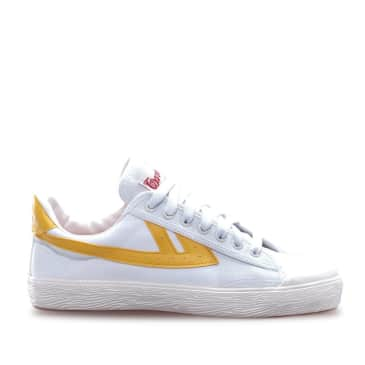 Warrior Shanghai Classic Low WB-1 Shoes - White / Yellow