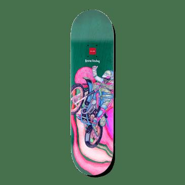 "Chocolate Psych Bike One Off Raven Tershy Skateboard Deck - 8.25"""