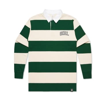Arch Stripe Rugby | Natural Forest