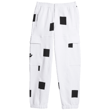 adidas Skateboarding Heavyweight Shmoofoil Box Pant - White / Black