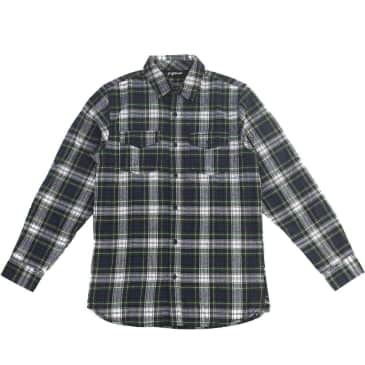 2nd Nature Flannel Navy/Green