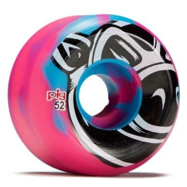Pig - Conical Head Blue/Pink Swirl 52mm