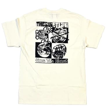 The Quiet Life Time is Now T-Shirt - Natural