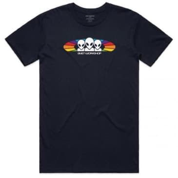 ALIEN WORKSHOP SPECTRUM TEE BLACK