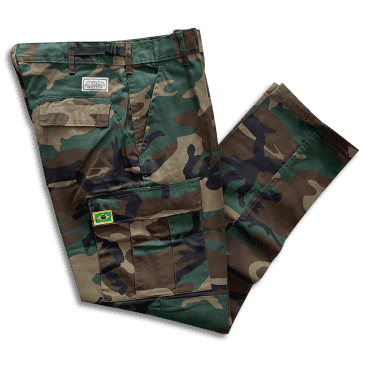 No-Comply Cargo Pants -Brazil- Camo