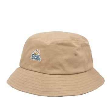HUF Crown Reversible Bucket Hat - Camel