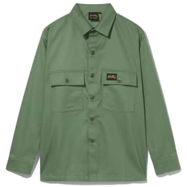Stan Ray CPO Shirt - Olive Sateen
