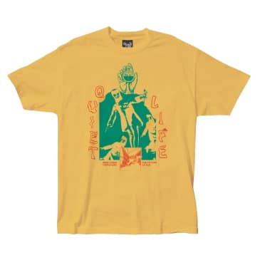QUIET LIFE Times Tee Gold