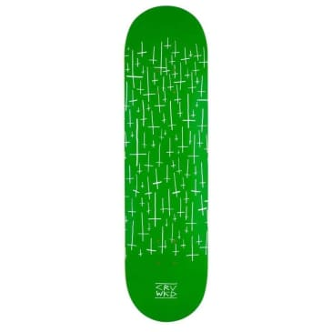 "Carve Wicked Team Deck Logo Deck 8.25"" Green"