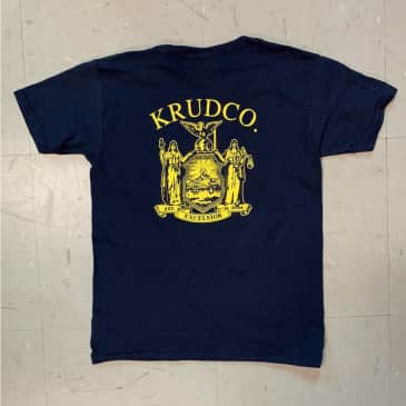 Krudco Skateshop Official Use Only Youth Navy T-Shirt