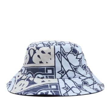 OBEY Bandana Bucket Hat - Navy / Black