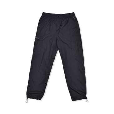 Cargo Track Pants Black Mini Ripstop