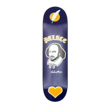 Palace Skateboards As You Like It Navy S23 Skateboard Deck - 8.1""