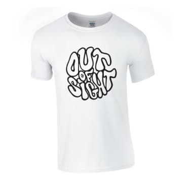 Out Of Sight Big Logo Tee White