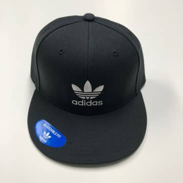 ADIDAS HAT ORIGINALS TREFOIL AW BLACK/WHITE