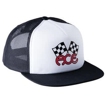 ACE - Flags Trucker Hat Black/White
