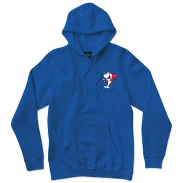 Thank You Shark Snack Hoodie - Blue