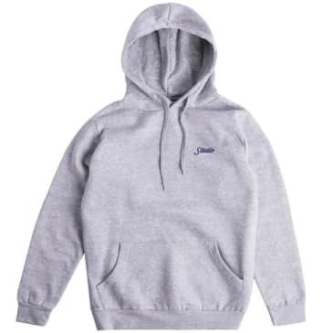 Studio Small Script Hoodie - Sports Grey