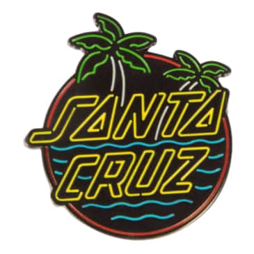 Santa Cruz Glow Dot Label Pin
