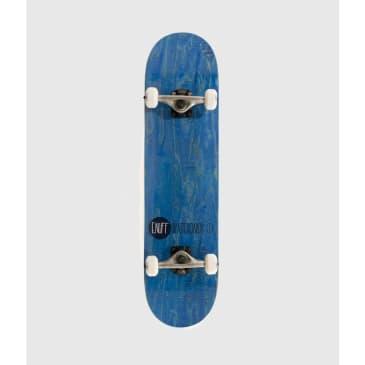 "Enuff Logo Stain Complete Skateboard Blue 8"""