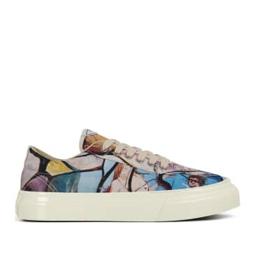 Stepney Workers Club x Endless Joy Dellow Womens Canvas Shoes - Cracked Earth