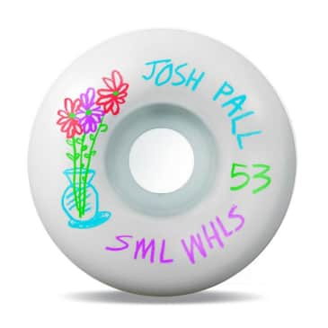 sml. Wheels Pencil Pushers Josh Pall V-Cut Skateboard Wheels - 53mm