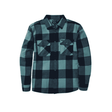 Bowery L/S Flannel | Washed Navy/Ocean