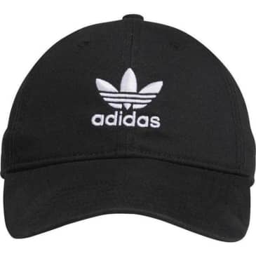 Adidas Originals Relaxed Strapback Hat Black - White