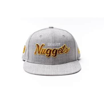 303 Boards - New Era Nuggets Snapback Hat (Grey)