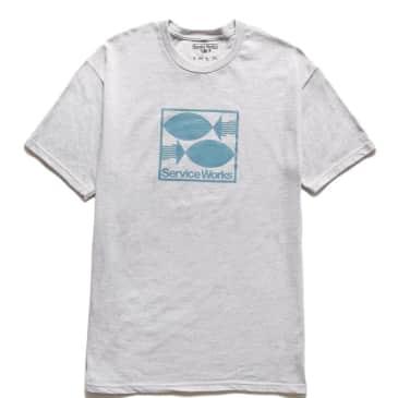 Service Works Turbot T-Shirt - Heather Grey