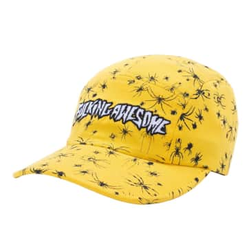 Fucking Awesome Spider Stamp Volley Strapback - Yellow