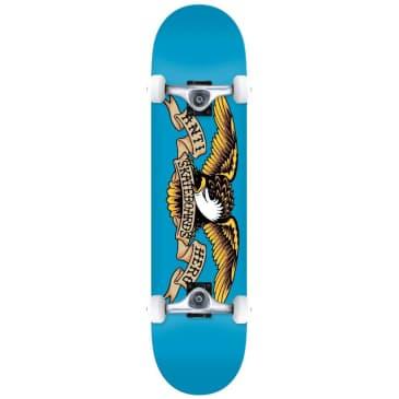 "Anti Hero Classic Eagle Blue Complete Skateboard - 7.5"""