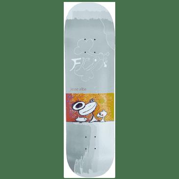 "Frog Jesse Alba Skateboard Deck - 8.6"""