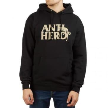 Anti Hero Dog Hump Pullover Black