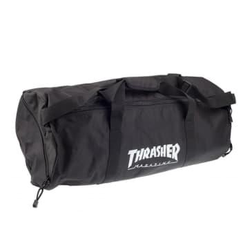Thrasher Logo Duffel Bag - Black