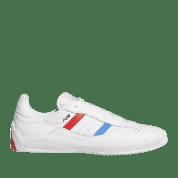 adidas Skateboarding Puig Shoes - Ftwr White / Bluebird / Vivid Red