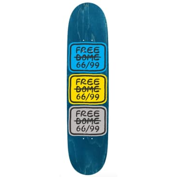 Free Dome Skateboards - FREE DOME - Stacked Logo Deck - 8.00""