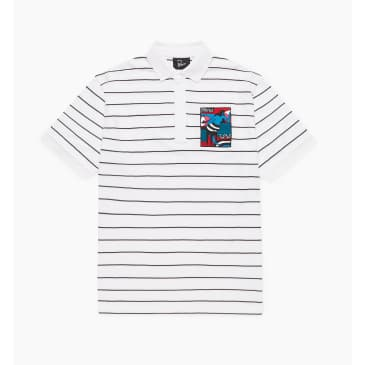 by Parra - bar messy polo shirt